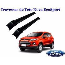 Par Travessa Teto Rack Nova Ecosport 2013 2014 2015 2016