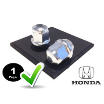 Porca De Roda Cromada Honda Civic, Fit, City, Cr-v,..unidade
