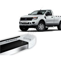 Estribo Nova Ranger Cabine Simples 2012/... - Branco Artico