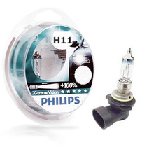 Kit Lampada Farol-philips-h11 X2-x-trem New Beetle-1998-2010