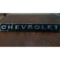 Emblema Chevrolet Da Grade Frontal Do Opala 68/70 - Original