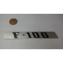 Emblema Do Lateral Capo Da Camioneta Ford F.100 Antiga