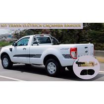 Kit Tranca Tampa Elétrica Para Nova Ranger 2013/2015