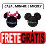 Mickey E Minie - Casal Disney - Enfeite De Antena - Original