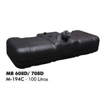 Tanque De Combustível Plástico Mb 608d 708d 100 Litros Bepo