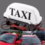 Luminoso Táxi Externo Led Imantado Branco