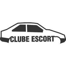 Adesivo Automotivo Ford Escort Clube 15cm