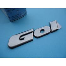 Logo Logotipo Escovado Gol