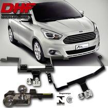 Engate Reboque Novo Ford Ka 2014 2015 Dhf Inmetro