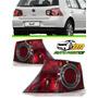 Lanterna Volkswagen Golf (vermelha)canto 2007 2008 2009 2010