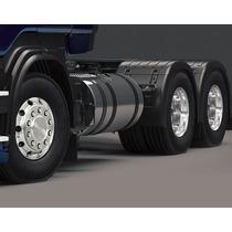 Tanque Combustível Inox Caminhão Scania Highline 330 Litros
