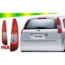 Par Lanterna Traseira Ford Fiesta Hatch 2003 2004 2005 06 07