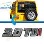 Adesivo Emblema 3.0 Tdi Resinado Para Linha Troller Novo