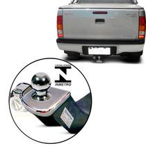 Engate P/ Reboque Hilux Parachoque Embutido Cab Dupla 05/15