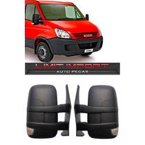 Par Retrovisor Iveco Daily Ano 2008 A 2015 Manual Curto