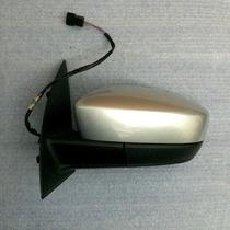 Retrovisor Original Vw Gol G6 Elétrico Esquerdo Prata