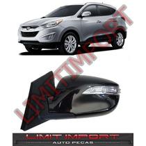 Retrovisor Hyundai Ix35 Esquerdo 12 13 14 Fecha Automatico