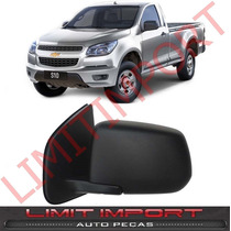 Retrovisor S10 Lt Manual Fixo Esquerdo 2012 2013 14 Original