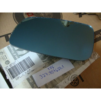 Lente Espelho Retrovisor Le Santana 98/06 Azul Original Vw