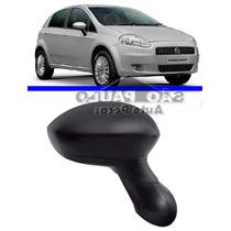 Retrovisor Punto Fiat Espelho Contole Manual Direito