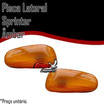 Lanterna Lateral Pisca Sprinter Ambar