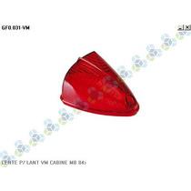 Lente P/ Lanterna Cabine Mercedes-benz 84/... Vermelho