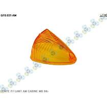 Lente P/ Lanterna Cabine Mercedes-benz 84/... Amarela