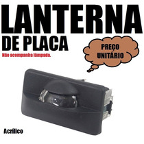 Lanterna De Placa Acrílico - Monza Kadett Hatch