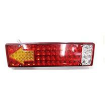 Lanterna De Led Traseira Para Caminhão 12v - 81 Leds - Zd019