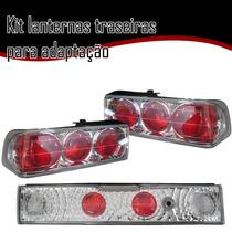 Kit Lanternas Traseiras P/ Adaptação E Caminhões