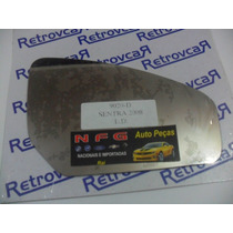 Lente Espelho Retrovisor Nissan Sentra 2008 Até 2010