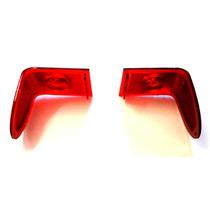 Par Lente Da Lanterna Traseira Rural E F75 Willys Ford Nova