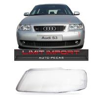 Lente Farol Audi A3 Esquerdo 2001 2002 2003 2004 2005 2006