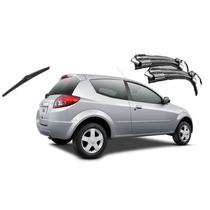Kit Palheta Limpador Parabrisa Dianteiro+traseiro Ford Ka