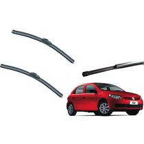 Kit Limpador De Para-brisas Novo Gol G5 Dianteiros+traseiro
