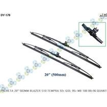 Palheta Limpador Para Brisa 20 502mm Blazer S10 Tempra 92/.