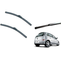 Kit Limpador Para Brisa Corsa Hatch Dianteiro +traseiro
