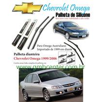 Palheta Automotiva Silicone Chevrolet Omega Australiano
