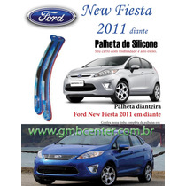 Palheta Automotiva Silicone Vto Especifica Ford New Fiesta