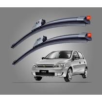 Kit Limpador Diant.palheta Silicone Corsa (sedan/hatch) 2004