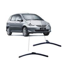 Kit De Limpador Dianteiro Silicone Honda Fit 03 A 08