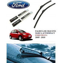 Palheta Automotiva De Silicone Específica Ford Fiesta 2005 &