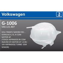 Reservatorio Agua Radiador Gol G2 G3 G4 Motor Ap Sem Sensor