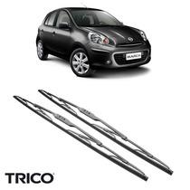 Palheta Limpador Nissan March 2012 A 2015 Trico Original Par