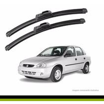 Palheta Silicone Corsa Sedan/ Classic 1995/... Par Dianteiro