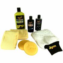 Kit Carro Novo Para Lavar E Encerar - G3200 - Meguiars