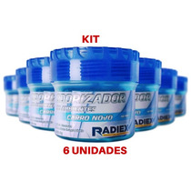 Kit 6 Un Aromatizante Odorizador Automotivo Gel Carro Novo
