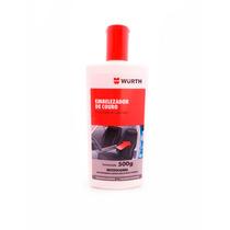 Embelezador De Couro Wurth 500 G Hidratante, Limpa, Conserva