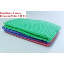 Pano Microfibra Automotivo Lavagem A Seco Polimento Limpeza