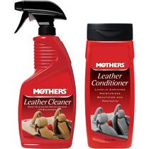 Kit Limpeza E Hidratação De Couro - 6412 + 6312 - Mothers